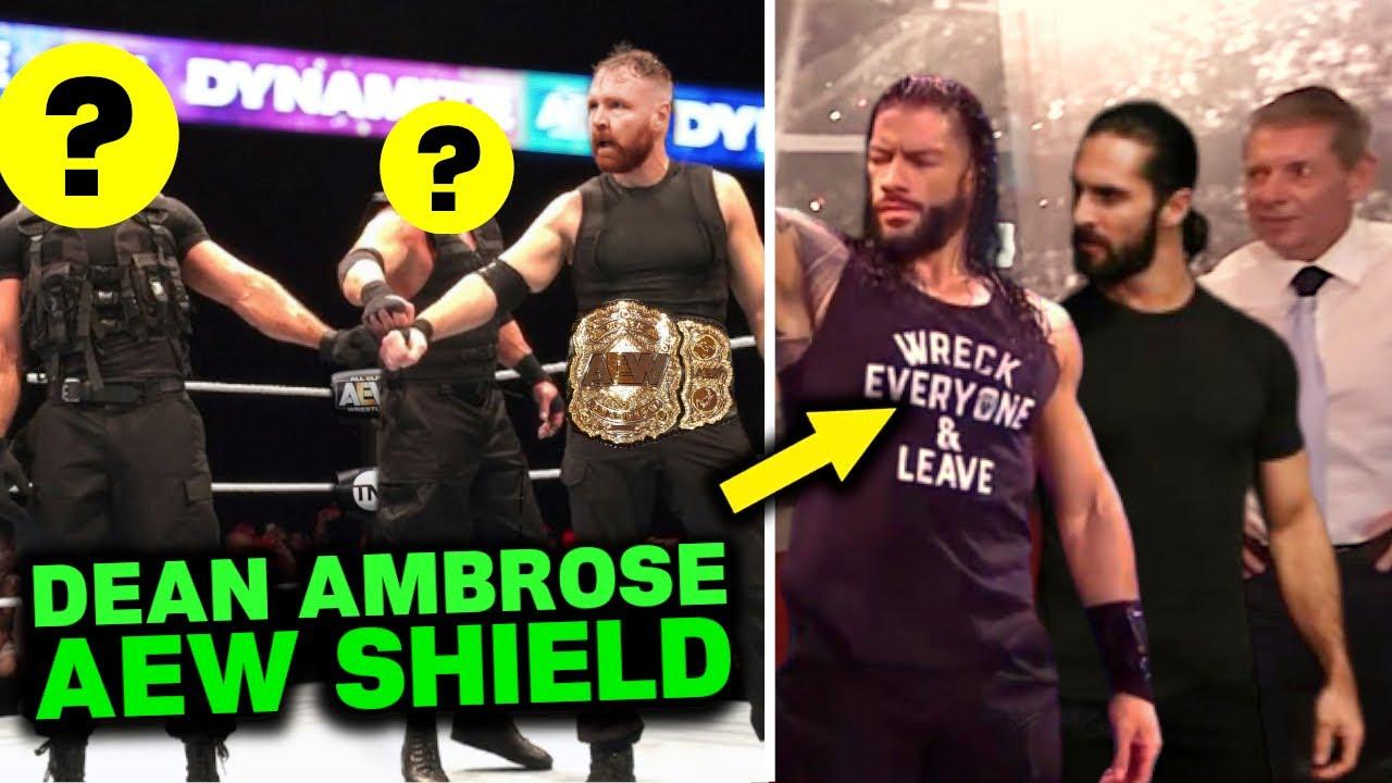 Dean Ambrose Reveals NEW Shield In AEW 2020 - Roman Reigns & Seth Rollins SHOCKING WWE Reaction!