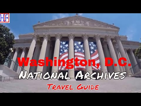 Washington, D.C | National Archives | Tourist Attractions |