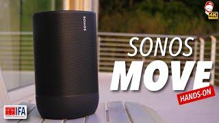 🔥 Sonos MOVE je první přenosný reproduktor Sonos (IFA 2019) | WRTECH [4K]