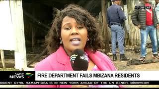 Fire department fails Mbizana community