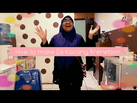 Vlog about food at Jatiland Mall Ternate - Special tutorial: How to make  Es Kacang Brenebon