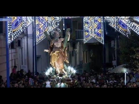 Gricignano (CE) - Festa di Sant'Andrea 2018, il rientro - live (27.08.18)