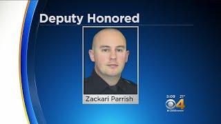 Organization Donates $26,000 To Deputy Parrish