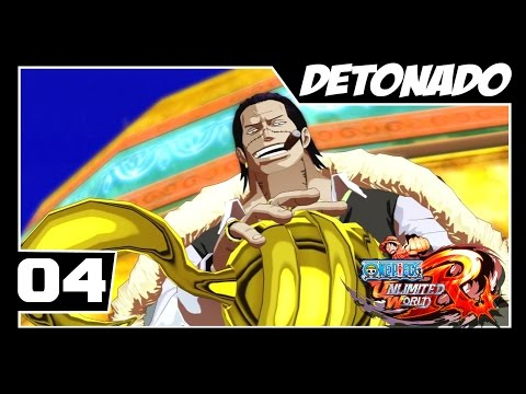 One Piece Unlimited World Red - Detonado Parte #4 - CROCODILE Revanche!