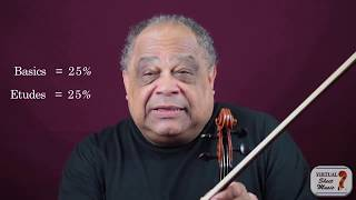 Setting up your violin practice schedule - Violin Lesson