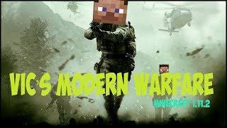 МОД НА ОРУЖИЕ в Minecraft - Обзор мода Vic's Modern Warfare