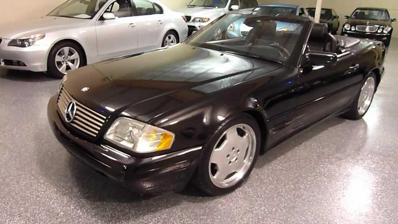 1998 mercedes benz sl500 2dr roadster 5 0l sport sold 2125 youtube