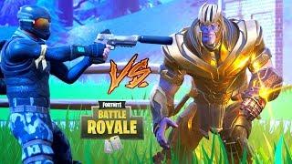 NOOB vs THANOS - OSTATECZNE STARCIE! | Fortnite (Battle Royale)