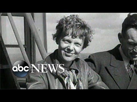 Famed scientist searching for Amelia Earhart wreckage l ABC News