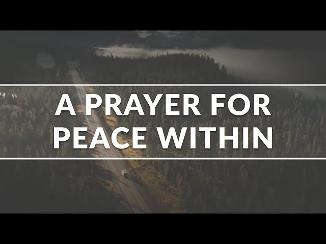 How and what should you ask God for? World peace can be a good one.