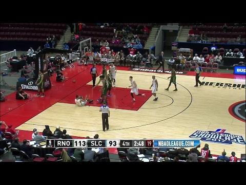 Highlights: Joel Bolomboy (19 points)  vs. the Bighorns, 1/22/2017
