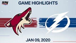 NHL Highlights   Coyotes vs. Lightning – Jan. 9, 2020