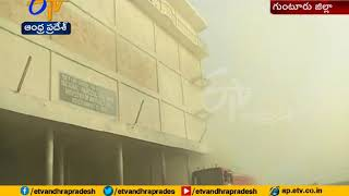Investigation Speed up on Fire Accident | in Cold Storage | Visits Minister Prathipati | at Boppudi