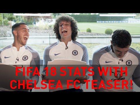 New FIFA 18 stats with Chelsea F.C's Hazard, Luiz & Christensen! | Teaser
