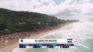 Becret vs. Bailey vs. Ewing vs. McGill - Trials QF H4 - Billabong Pipe Masters 2018