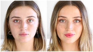 My 'No Makeup' Makeup Look | allanaramaa