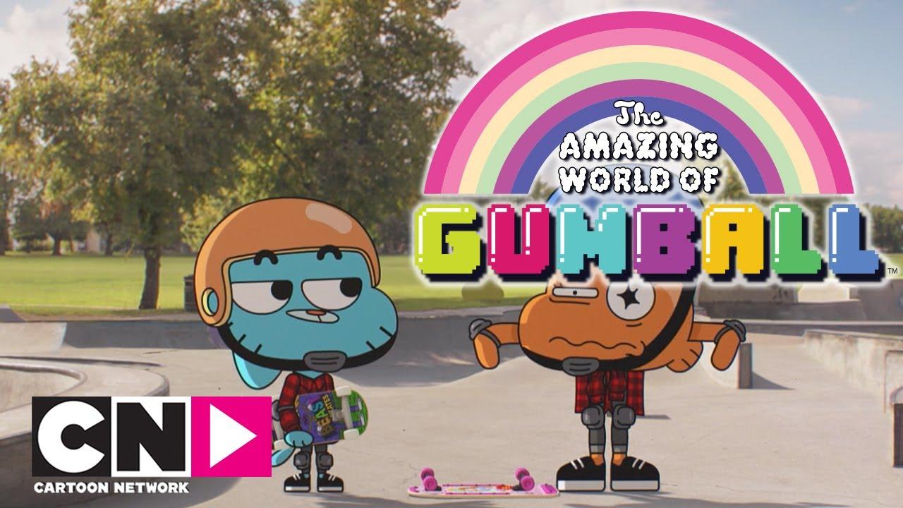 L esperto di skate lo straordinario mondo di gumball cartoon