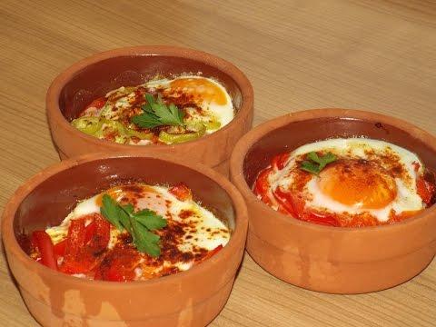 Быстрый, вкусный и красивый завтрак. (сирене в гювече по турецки)