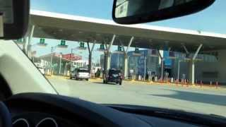 Driving from San Diego to Tijuana Through New El Chaparral (HD)