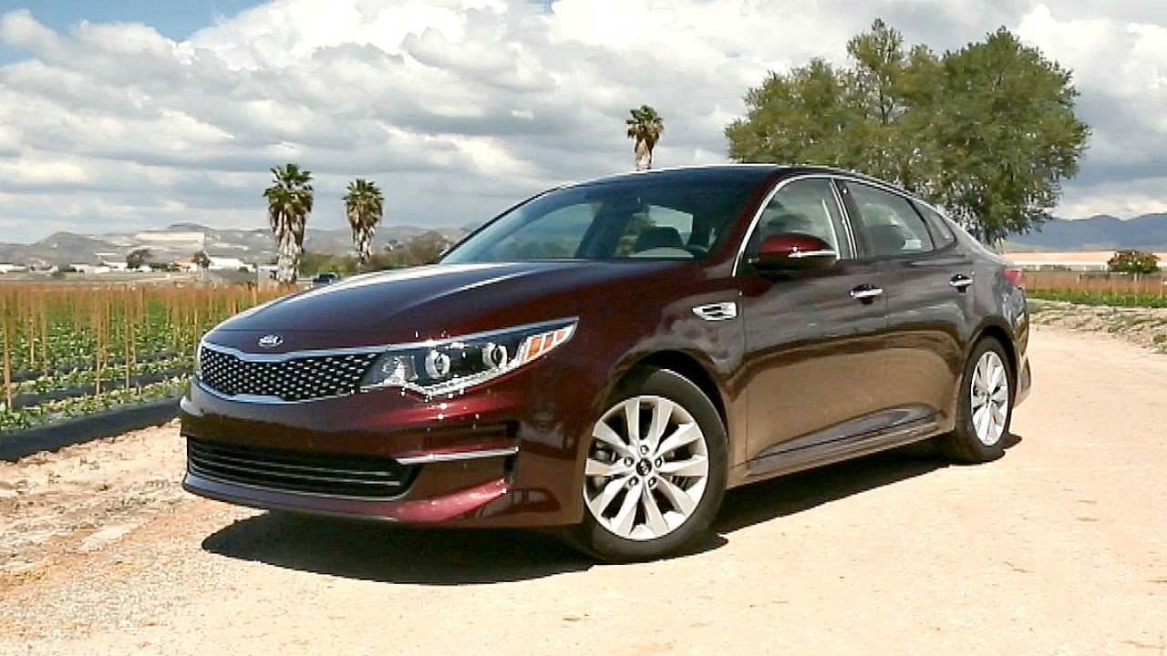 2016 kia optima - review and road test