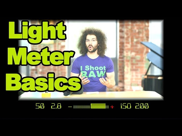 Photography HACK: How To Use The Light Meter In Your Camera To Get The Right Exposure