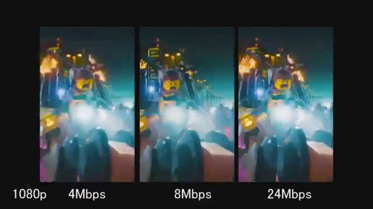 DC-HE1U compare New bit rate (1080p 4mbps 8mbps 24mbps)
