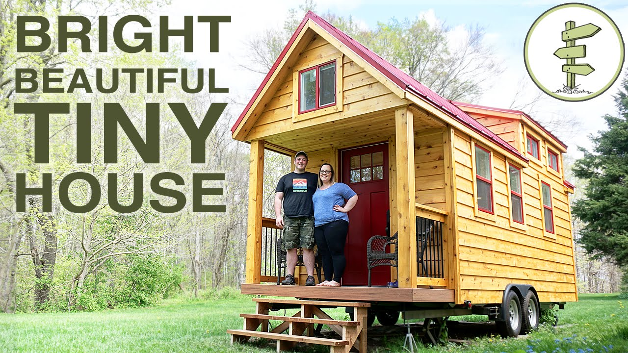 Teenager Started Building A Mortgage Free Tiny House At