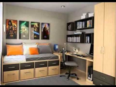 DIY Mens bedroom decorating ideas & DIY Mens bedroom decorating ideas - YouTube