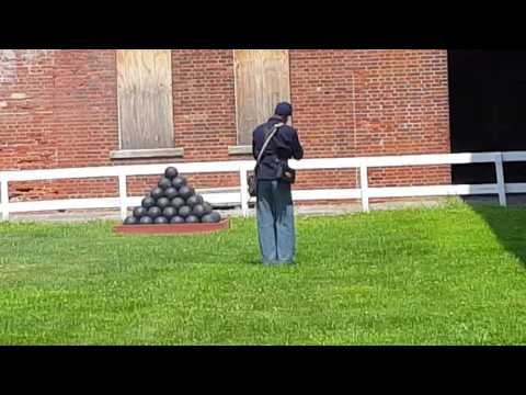 delaware fort Civil War Living History