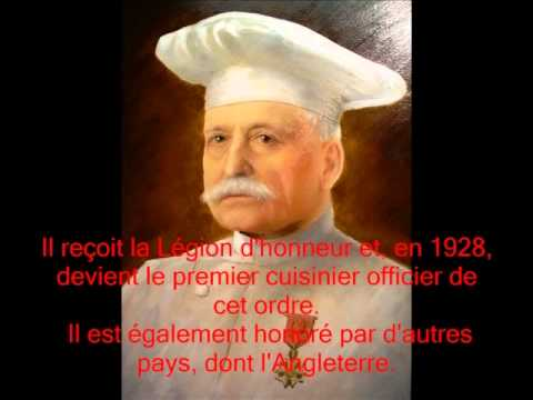 Auguste escoffier son guide culinaire ma cuisine youtube for Auguste escoffier ma cuisine