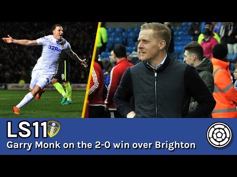 LS11 | Garry Monk on LUFC's 2-0 win over Brighton