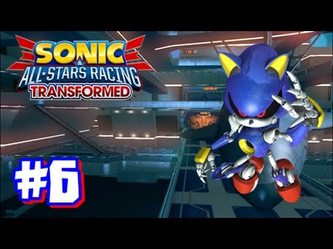 Sonic & All Stars Racing Transformed Wii U - World Tour - Part 6