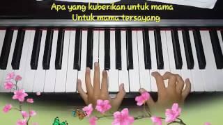 """""""Lagu Cinta untuk Mama"""" piano by Grace"""