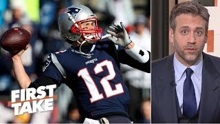 Patriots need more from Tom Brady in playoff game vs. Chargers - Max Kellerman | First Take