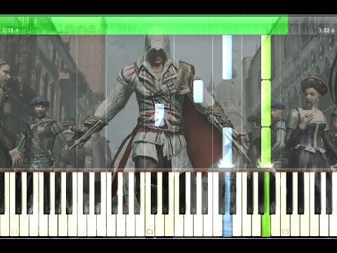 Dreams of Venice Piano Tutorial (Sheet Music) - Assassin's Creed 2 OST