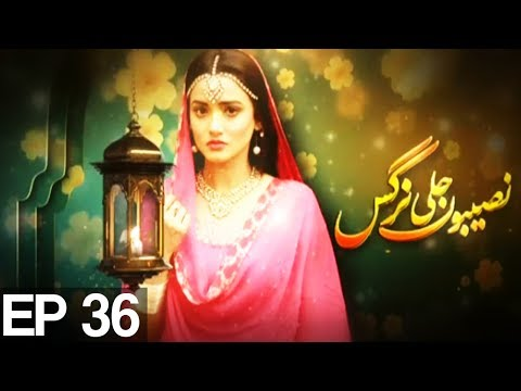 Naseboon Jali Nargis - Episode 36 | Express Entertainment