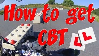 Motorcycle CBT what to expect.