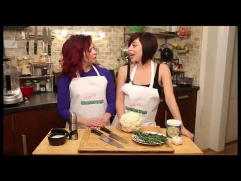 Broadway Stars Krysta Rodriguez and Kirsten Wyatt Cook Up Cancer-Friendly Food on BROADWAY NOSH