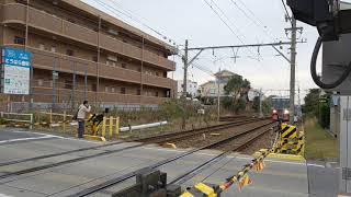 【名鉄名古屋本線】3300系3313F 本線試運転  美合駅入線