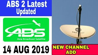 Big Breaking News! ABS 2 free dish ku_band updated 2019 @free to air new channel list