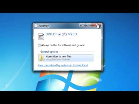 How To Install A Program From A CD Or DVD In Windows