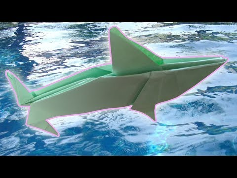 How To Make Shark Origami Easy Tutorial With Paper  New Video 2019