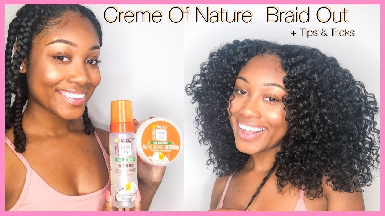 Download Back To School Braid Out Routine   Creme Of Nature   OKae Kaela