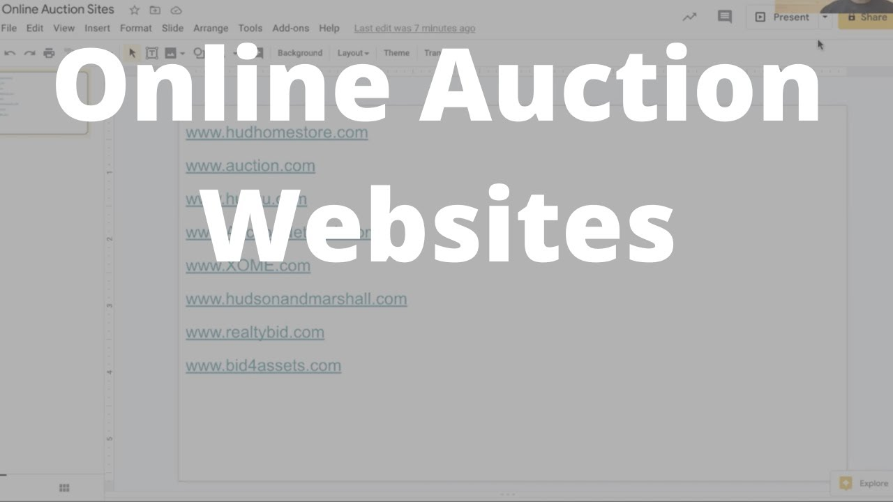 Online Auction Websites Youtube