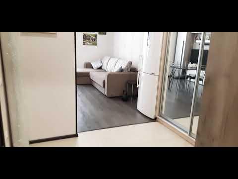 Квартира студия/обзор/РумТур/студия 29кв.м/бюджетный ремонт студии