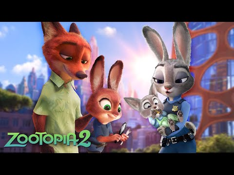 Zootopia 2: Judy and Nick have a daughter and a son! 🐇🦊 Nick Wilde and Judy Hopps | Alice Edit!