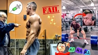 Stupid People in GYM Compilation 2021   Gym Fails of The Week   HAVING A BAD DAY? WATCH THIS!