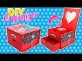 DIY / Tutorial Miraculous Ladybug Jewelry BOX - Ladybug Crafts