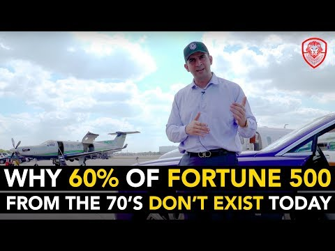 Why 60% of Fortune 500 from the 70's Don't Exist Today