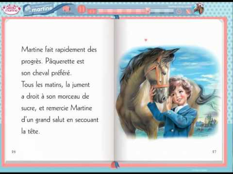 Livre multimédia Full Version : Martine monte à cheval